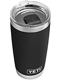 Rambler 20 oz Stainless Steel Vacuum Insulated Tumbler w/MagSlider Lid, Black