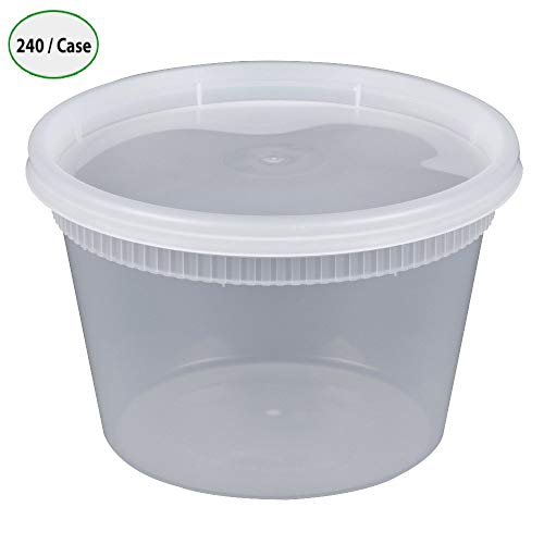16 oz. Newspring YSD2516 DELItainer Clear Round