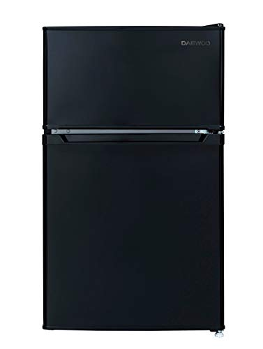 Daewoo RTO32ERBCE 3.2 Cu. Ft. Compact Black Refrigerator, Cu.Ft 2 Door