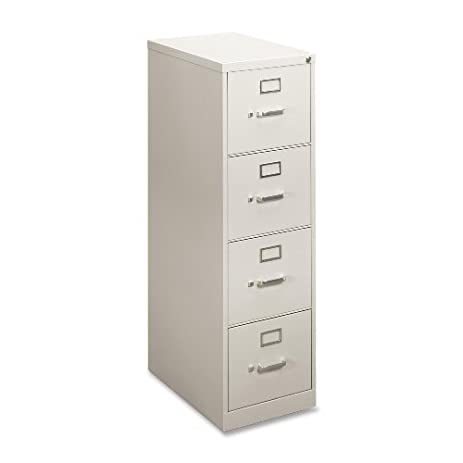 Amazon.com: Basyx 4-Drawer Vertical File Cabinet, 15 by 22 by 48-3 ...