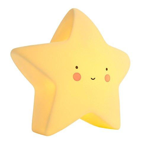 niceEshop(TM) Kids LED Night Light Portable Children Night Lamp for Baby Room, Bedroom, Nursery, Adults Cute Gift (Star)