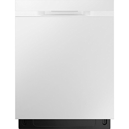 Samsung 24 in Top Control Stormwash Dishwasher in White with Stainless Steel Tub and AutoRelease Dry, 48 dBA