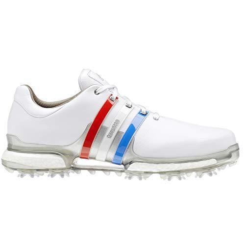 adidas Men's Tour360 2.0 Golf Shoe FTWR White/Scarlet/Night Sky 10 M ()
