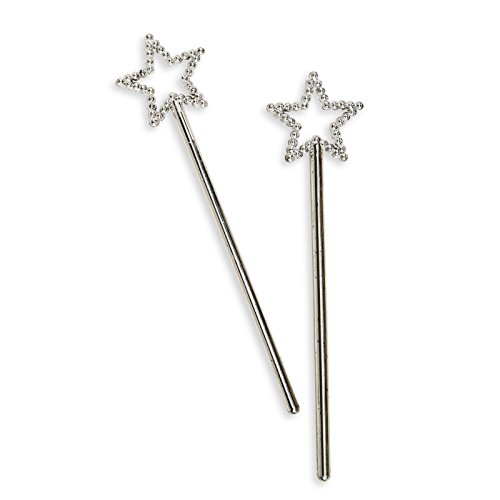 Sequin Star Wand Silver RINCO