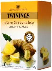 Twinings (uk) Infusion Lemon & Ginger 20 Tea ()