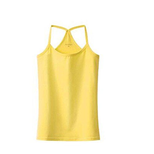 La camiseta sin mangas flaca atractiva del chaleco suave de la camiseta de las mujeres de la manera, # 3
