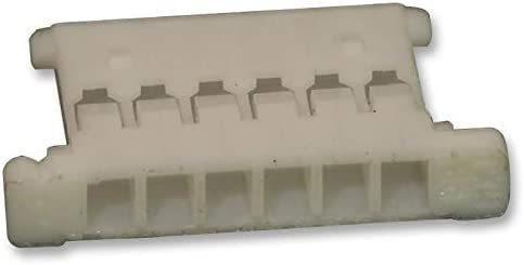 Crimp 1.25 mm 51146-0600 Pack of 75 51146-0600 1 Rows PanelMate 51146 Series Receptacle 6 Contacts Wire-To-Board Connector