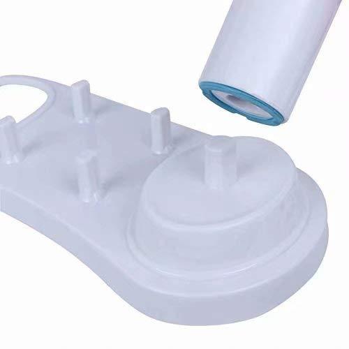 Colore: bianco Doyime Supporto per spazzolino elettrico Supporto per supporto spazzolino bianco spazzolino Base