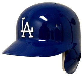 Los Angeles Dodgers Left Flap Official Batting Helmet by Rawlings