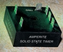 (AMPERITE 12D1-100SSTB TIME DELAY RELAY, SPST-NO, 100SEC, 12VDC)