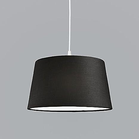 color blanco E27/max, 60/W, pl/ástico L/ámpara colgante moderna