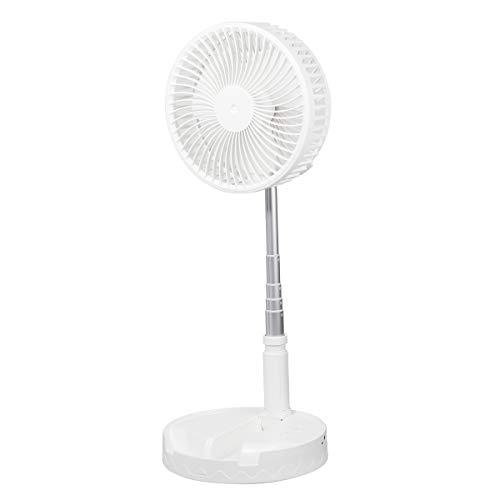 扇風機 リビング扇 卓上扇風機 折りたたみ伸縮式 扇風機 大風量4段階調節 大容量7200mAh 最大23.5時間動作 32db超静音 小型 180度角度調整 充電式 usb扇風機 携帯扇風機 寝室 オフィスリビング アウトドア