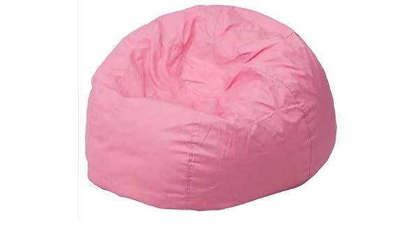 Terrific Amazon Com Giant Bean Bag Chairs For Adults Pink Cotton Spiritservingveterans Wood Chair Design Ideas Spiritservingveteransorg