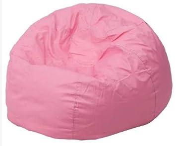 Amazon.com: Puf gigante sillas para adultos rosa tela de ...