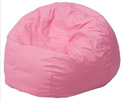 Brilliant Amazon Com Giant Bean Bag Chairs For Adults Pink Cotton Spiritservingveterans Wood Chair Design Ideas Spiritservingveteransorg