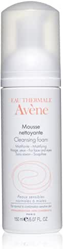 Eau Thermale Avène Cleansing Foam, 5.07 oz.