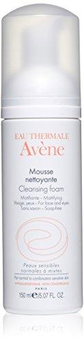 Eau Thermale Avène Cleansing Foam, 5.07 oz. (Avene Gentle Cleanser)