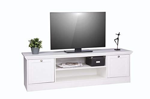 Avanti Trendstore Lando - Mueble de Madera para televisor (160 x 48 x 45 cm), Color Blanco: Amazon.es: Juguetes y juegos
