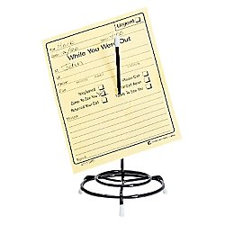 Office Depot Wire Memo Spindle, Message Spindle, Black, 2721