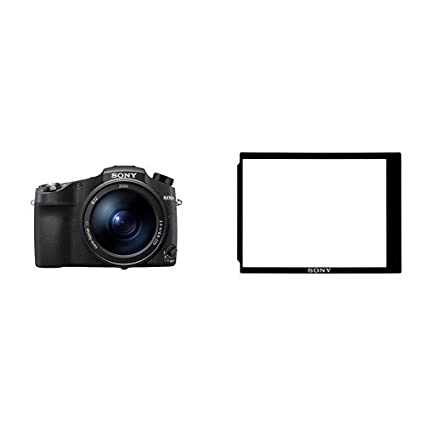 Sony Cyber‑Shot RX10 IV with 0 03 Second Auto-Focus & 25x Optical Zoom with  LCD Protector