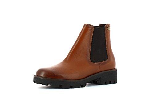 Boots Carmela Leather 65849 Womens Ankle Botin Camel UxarxIzq