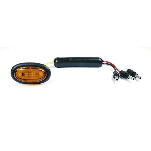 Grote 49383 Yellow Dual Intensity MicroNova LED Clearance Marker Light (Standard with Grommet)