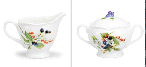 Lenox Orchard in Bloom 2 Piece Sugar and Creamer Set