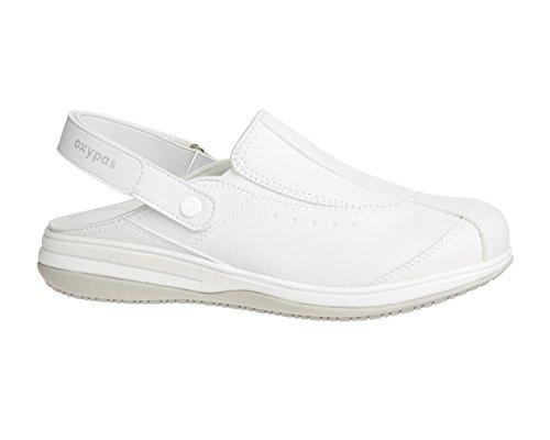 Oxypas Iris, Womens Safety Shoes, Farbe: Schwarz, Größe: 40 EU Weiß (wht)