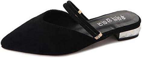 Btruely Zapatos de Mujer❤️Sandalias Casuales de Punta Zapatos Punta para el pie Zapatos de Trabajo para Mujer Zapatos de tacón Cuadrado Mocasines