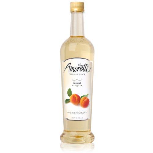 Amoretti Premium Syrup, Apricot, 25.4