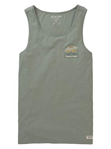 Burton Men's Orphic Tank, Shadow, Large (Fiber All Snowboard Mountain)