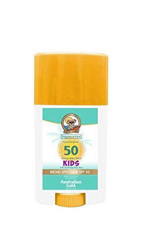 Australian Gold Australian gold kids guard sunscreen stick, won't sting eyes, broad spectrum, water resistant, cruelty free, spf 50, 1.5 ounce, 1.5 Ounce