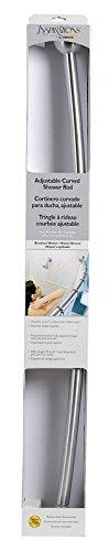 Length Curved Shower Rod (Moen DN2160BN Inspirations Curved Shower Rod, Brushed)