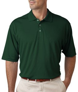 Men's Cool & Dry Sport Polo, Forest Green, 2XL