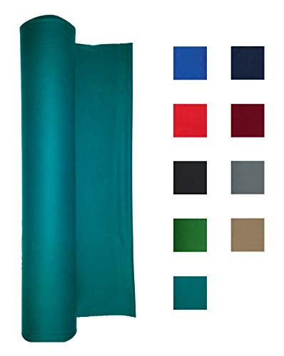 (Performance Grade Pool Table Felt - Billiard Cloth - for 8 Foot Table Standard Green)