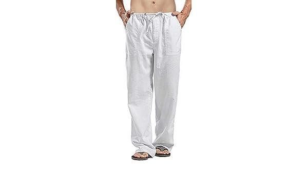 Pantalones Hombre Verano Casuales Tallas Grandes Moda ...