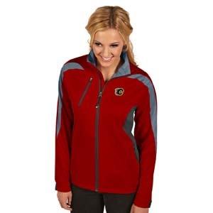 Antigua Calgary Flames Jacket (Antigua Calgary Flames Women's Discover Jacket Extra)
