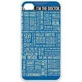 Mystic Zone Doctor Who iPhone 4 Case for iPhone 4/4S Cover Sci-fi Film Theme Fits Case KEK0834