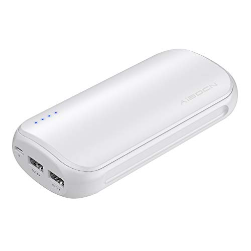 Aibocn Power Bank 16,000mAh Portable Charger External Battery with Fast Charging Technology for iPhone iPad Samsung Galaxy and More, White