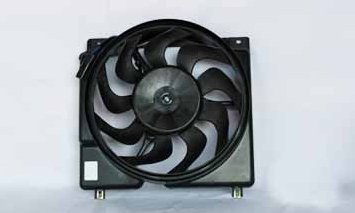 TYC 620560 Jeep Cherokee Replacement Radiator/Condenser Cooling Fan Assembly by TYC (Image #2)