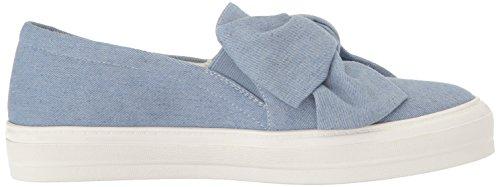 Nine West Vrouwen Onosha Denim Fashion Sneaker Blauw