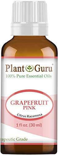 Pink Grapefruit Essential Oil 1 oz / 30 ml 100% Pure Undiluted Therapeutic Grade Cold Pressed from Fresh Grapefruit Peel, Great for Aromatherapy Diffuser, Relaxation and Calming, Natural Cleaner. (Best Essential Oils Canada)