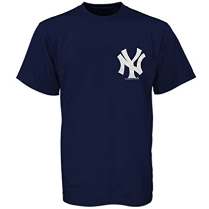 Amazon.com   Majestic New York Yankees Youth Wordmark T-Shirt ... d22662f816f