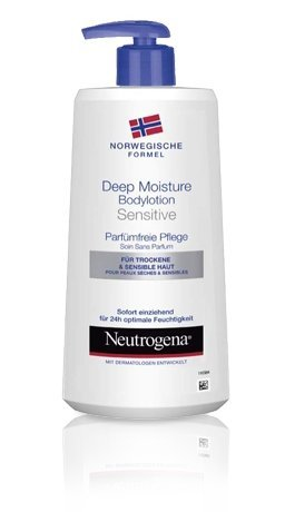 Neutrogena Deep Moisture Bodylotion Sensitiv 400ml