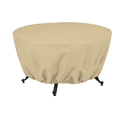 Classic Accessories Terrazzo Round Patio Fire Pit/Table Cover, 42 - Terrazzo Table Patio Cover