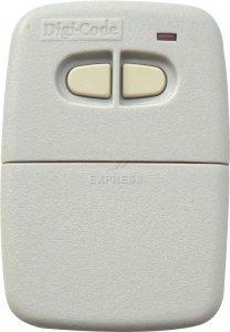 - Digi-Code 2 Button Visor Transmitter 300mhz - Multicode Compatible by DigiCode