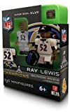 NFL Baltimore Ravens Ray Lewis Super Bowl Champion OYO Figure