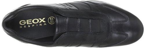 uk store lowest discount size 40 Geox U34A5L Uomo Symbol, Men's Low-Top Sneakers