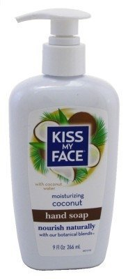 Kiss My Face Hand Soap Coconut 9oz Pump (2 Pack)