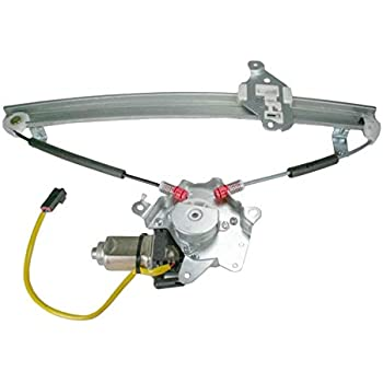 Sedan SEBRING 03-04 FRONT WINDOW REGULATOR LH w// Motor Power